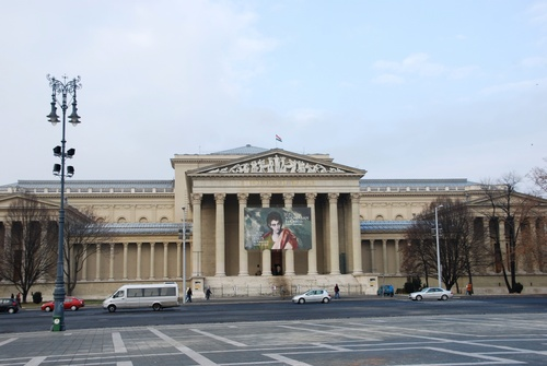 Budapest: autour de la Place des Héros et de l'Université (photos)