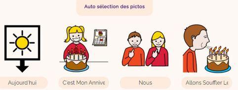 Pictofacile : service en ligne pour générer un texte en pictogrammes Arasaac