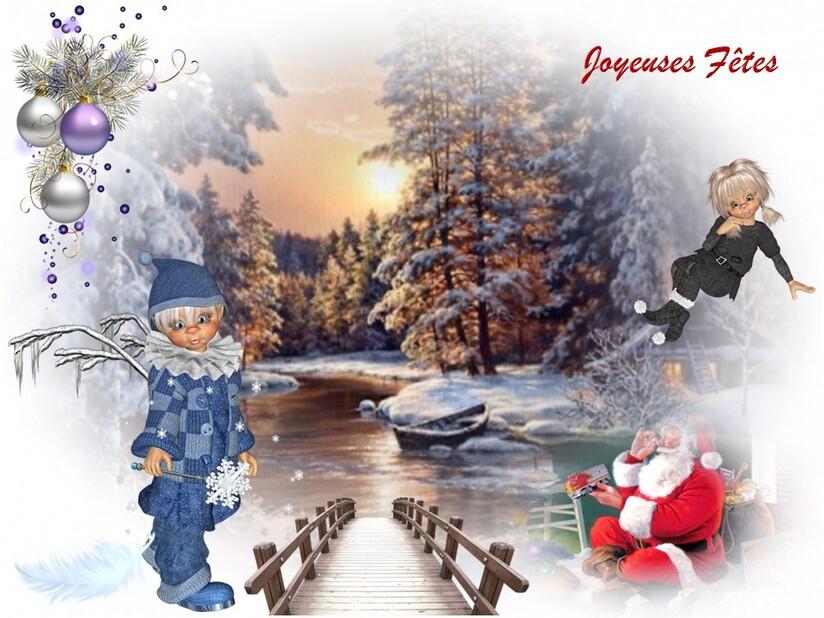 Le pont du Père Noel