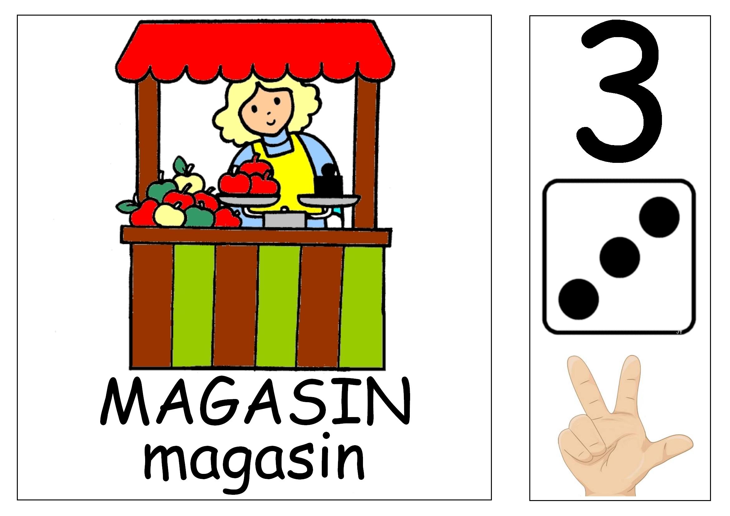 Les affichettes pour les coins et ateliers maitresse myriam - La marchande de couleur ...