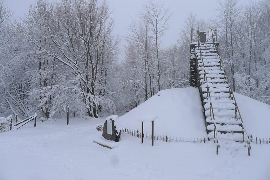 26 cm de neige dans les Hautes Fagnes!