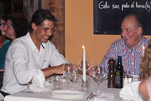 Juan Carlos et Rafa