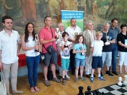 Finale challenge Blitz FFE au Château d'Asnières (92) suite remise des prix
