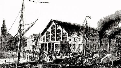 Calais : La première gare détruite en 1901 par un ouragan