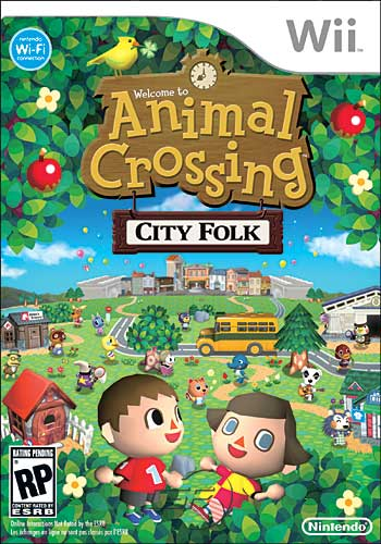 Boite Animal crossing city folk WII