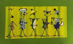 Tableau artisanal Sénégalais