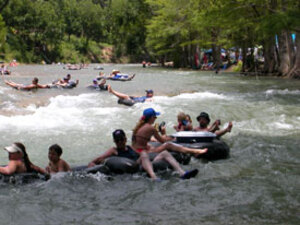 books floating tubing guadalupe river