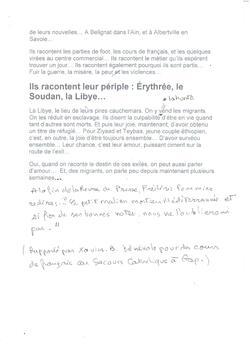 """""""Mort noyé en Méditerrannée, un Malien de 14 ans avait cousu son bulletin de notes dans sa veste""""."""