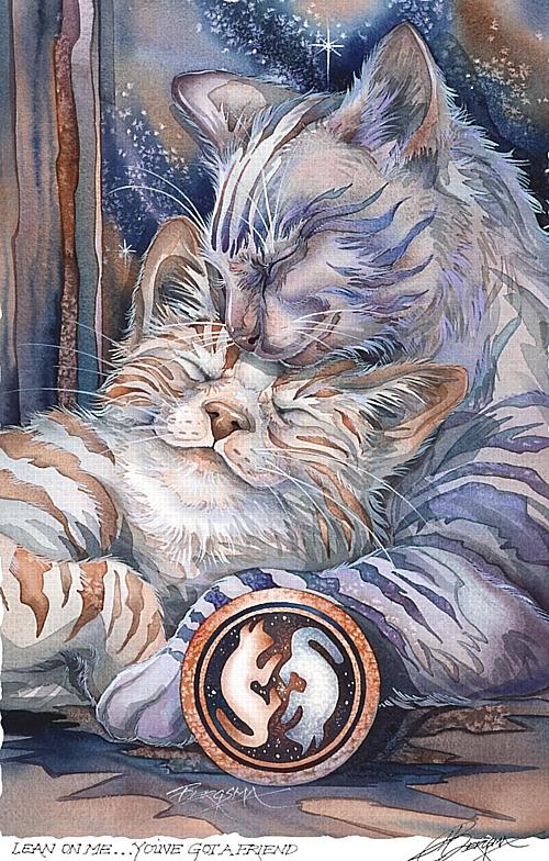 chate au deux visages
