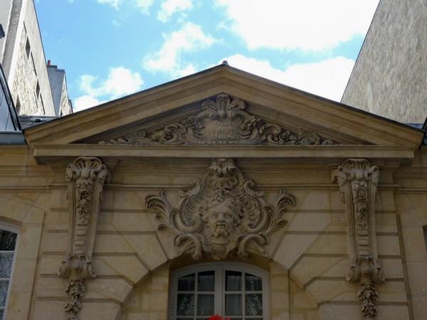 40 - Hôtel rue du Regard (détail)