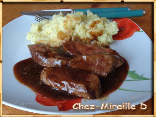 Magret de Canard Sauce Miel et Balsamique