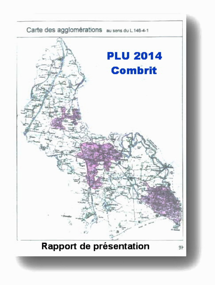 PLU 2014 : ARTICLE L.146-4-I ET L'EXTENSION DE L'URBANISATION