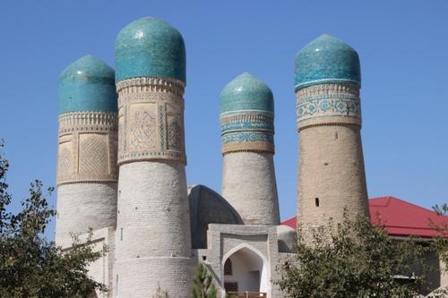 Boukhara : Le Tchor Minor