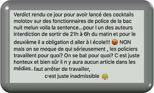 C'est juste inadmissible