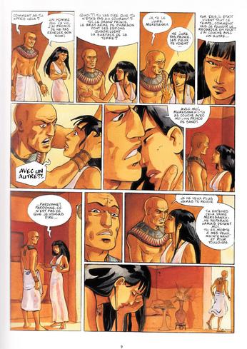 Imeni ou la résurrection d'Osiris d'Isabelle Dethan - Sur les terres d'Horus, tome 8