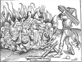 Juifs bûcher 15e siècle