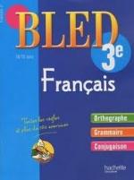 Pour activer les notions de français (orthographe, grammaire, lexique)