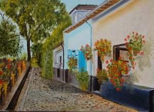 Peintures de Gabriel ETROIT