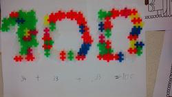 Le 100ème jour d'école !
