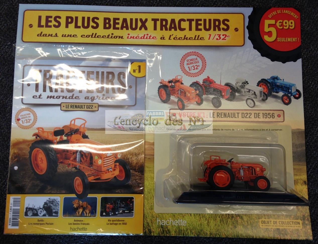 n 1 tracteurs et monde agricole test l 39 encyclo des n 1. Black Bedroom Furniture Sets. Home Design Ideas