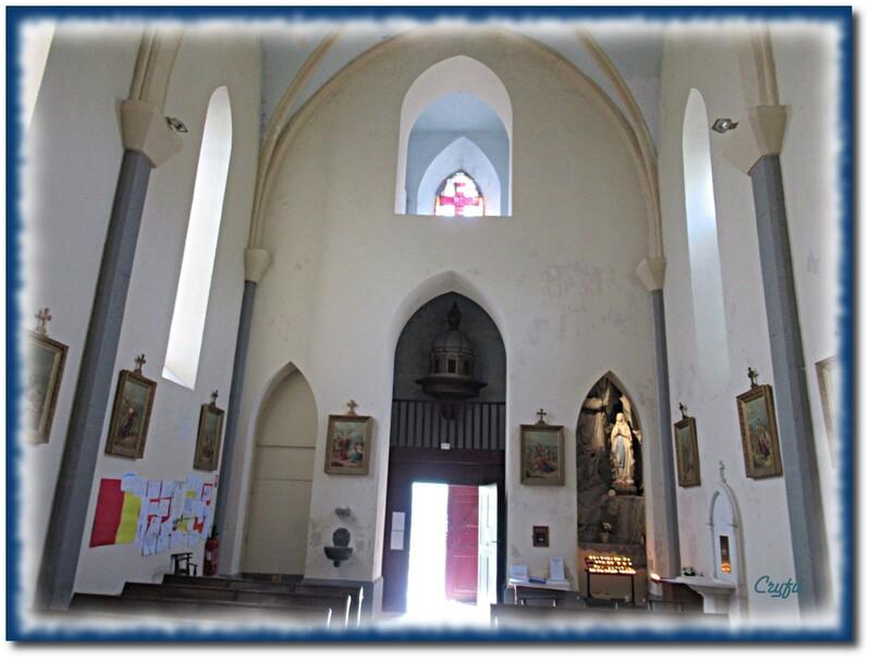 Beau village, belle église