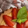 tartelette fraise - basilic