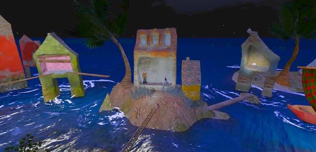 """Maisons dans l'eau : """"Musicien"""""""