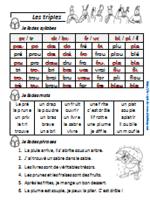 Etude des sons CP (deuxième partie)