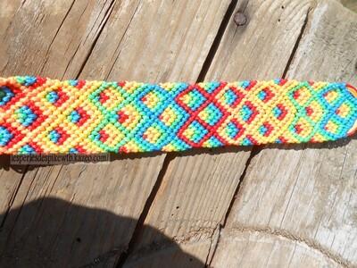 Bracelet Brésilien Modèle Ananas (2)