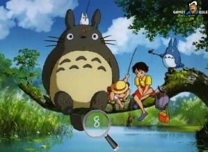 Hidden numbers - My neighbour Totoro