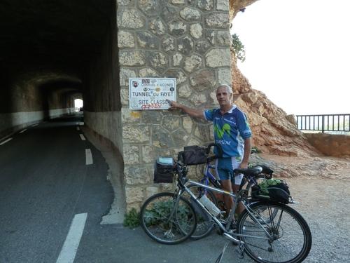 Gorge du verdon Rive droite à vélo au départ d'Aiguines