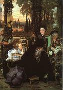 Une Veuve (A Widow) 1868 - James Jacques Joseph Tissot - www.jamestissot.org