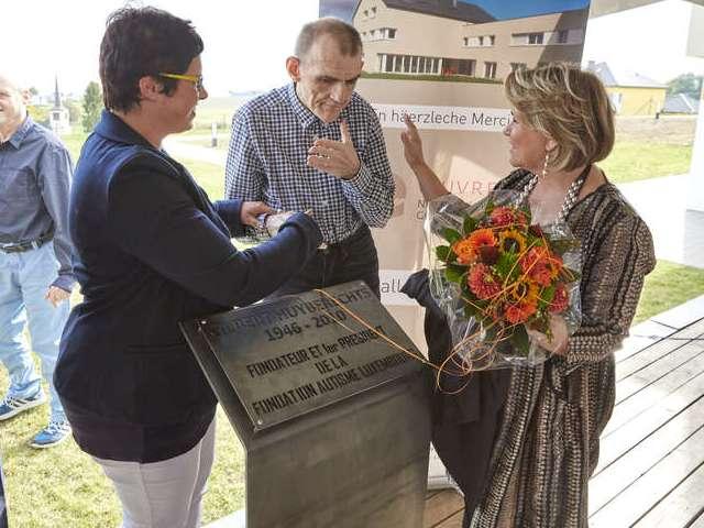 Inauguration du nouveau centre Gil Huyberechts