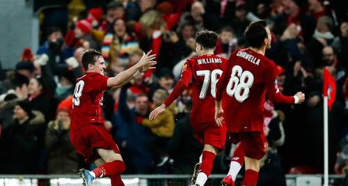 Les Baby Reds étendent le parcours de Liverpool en Coupe d'Angleterre
