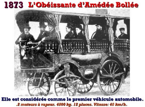 L'Histoire de l'automobile en photos