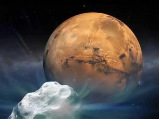comète mars