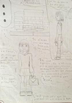 Anciens dessins partie 3 : en cinquième