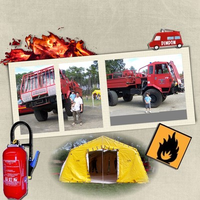 Blog de chipiron :Un chipiron dans les Landes, Au feu les pompiers