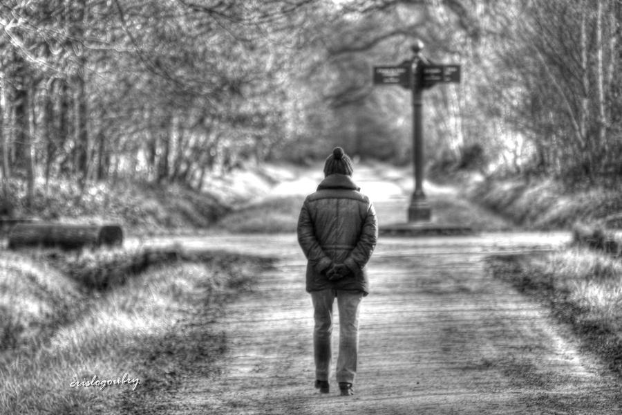 je marche seule...