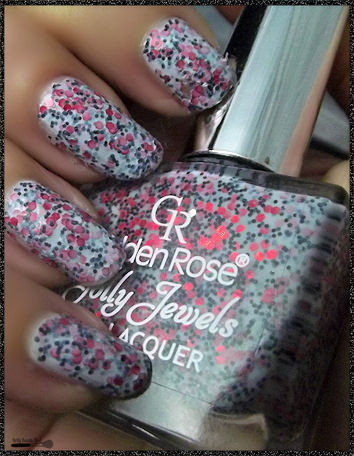 Golden rose concurrence lush laquer