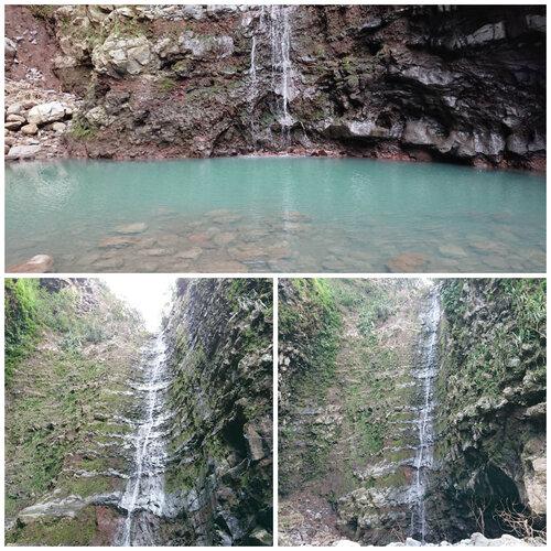 La dernière cascade du Grand Bras et son bassin