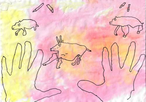 Les dessins préhistoriques
