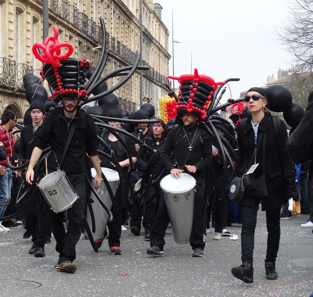 Le carnaval de Bordeaux 2016 : les musiciens