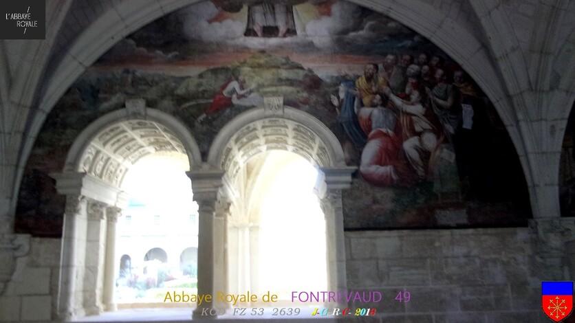 ABBAYE &  SITE  RELIGIEUX:  2/3 - 6/10 ABBAYE de  FONTREVAUD  49        D   04/05/2019