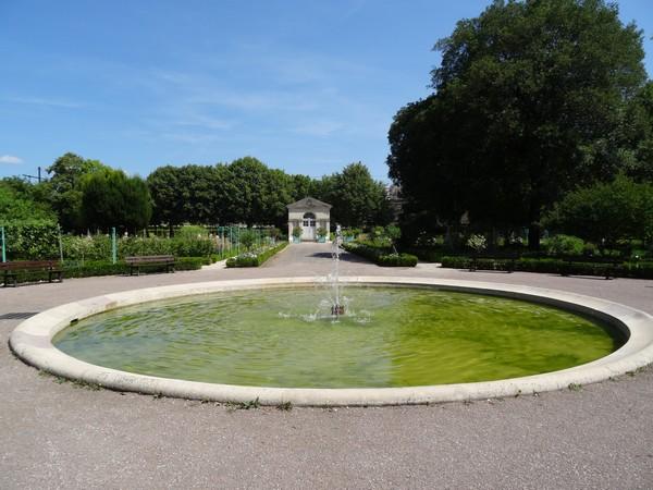 Le Jardin de l'Arquebuse de Dijon