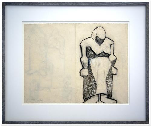 Exposition Picasso-Giacometti.