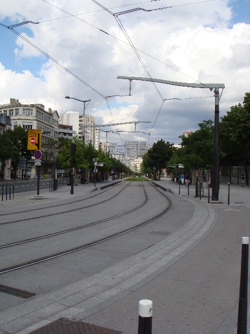 Station tramway porte de Gentilly