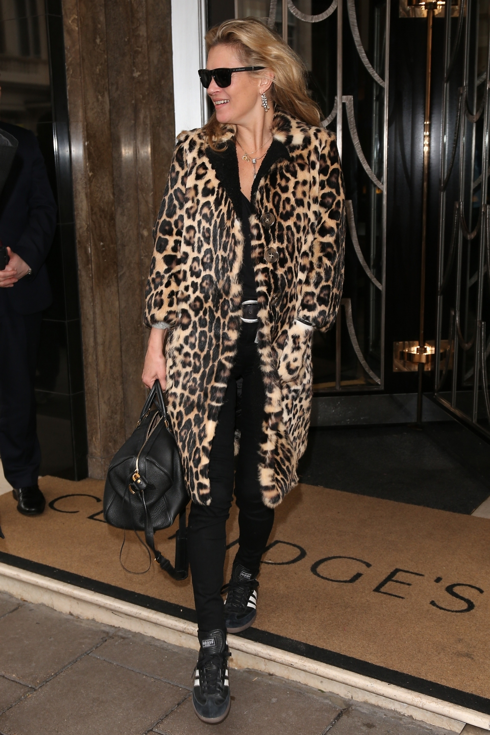 Kate Moss wearing Burberry whilst out in London, 22nd September 2015 GettyImages-489540800 copy