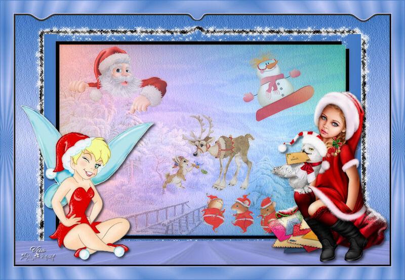 Jour 19 La fée Clochette raconte Noël de Caroline