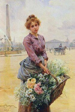 PEINTRES  des ANNEEDS 1900